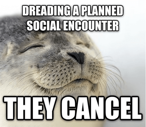 canceled plans meme
