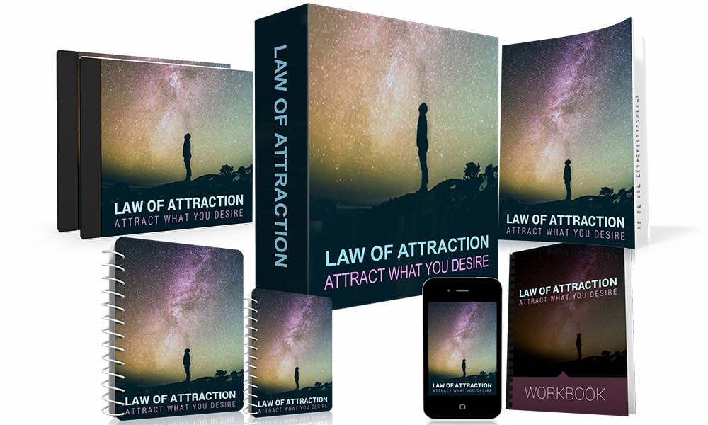 The law of attraction attract what you desire free bundle