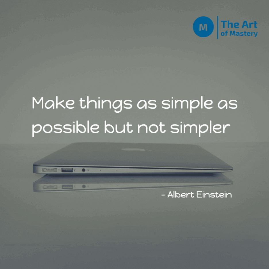 Quote on simplicity by einstein