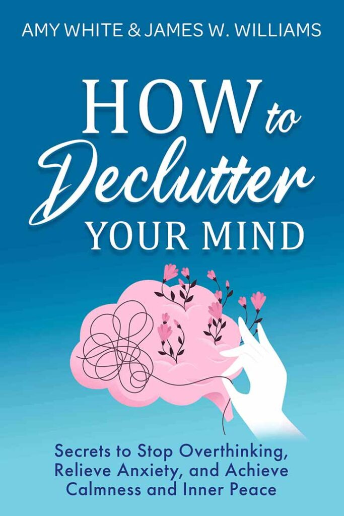 How to Declutter your mind book by james w. williams