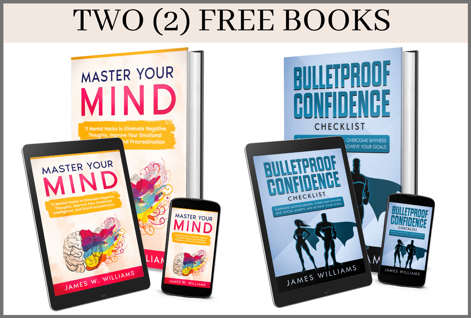 2 free bonus books the art of mastery